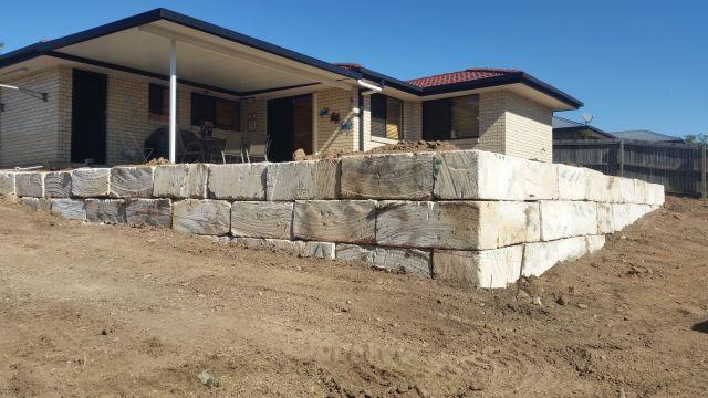 Sandstone Retaining Walls Brisbane