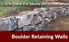Boulder Retaining Walls Brisbane