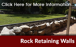 Rock Retaining Walls Brisbane